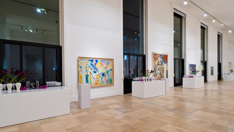 © Salle Albert Amon, Musée d'art moderne de Paris. Adopter le naming pour son site historiqe comme pratique de parrainage et logique de mécénat.
