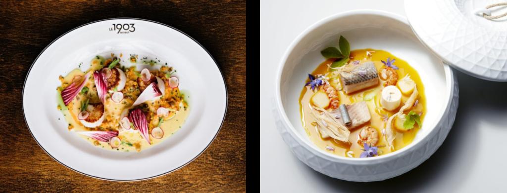 Une image contenant alimentation, assiette, bol, plat  Description générée automatiquement